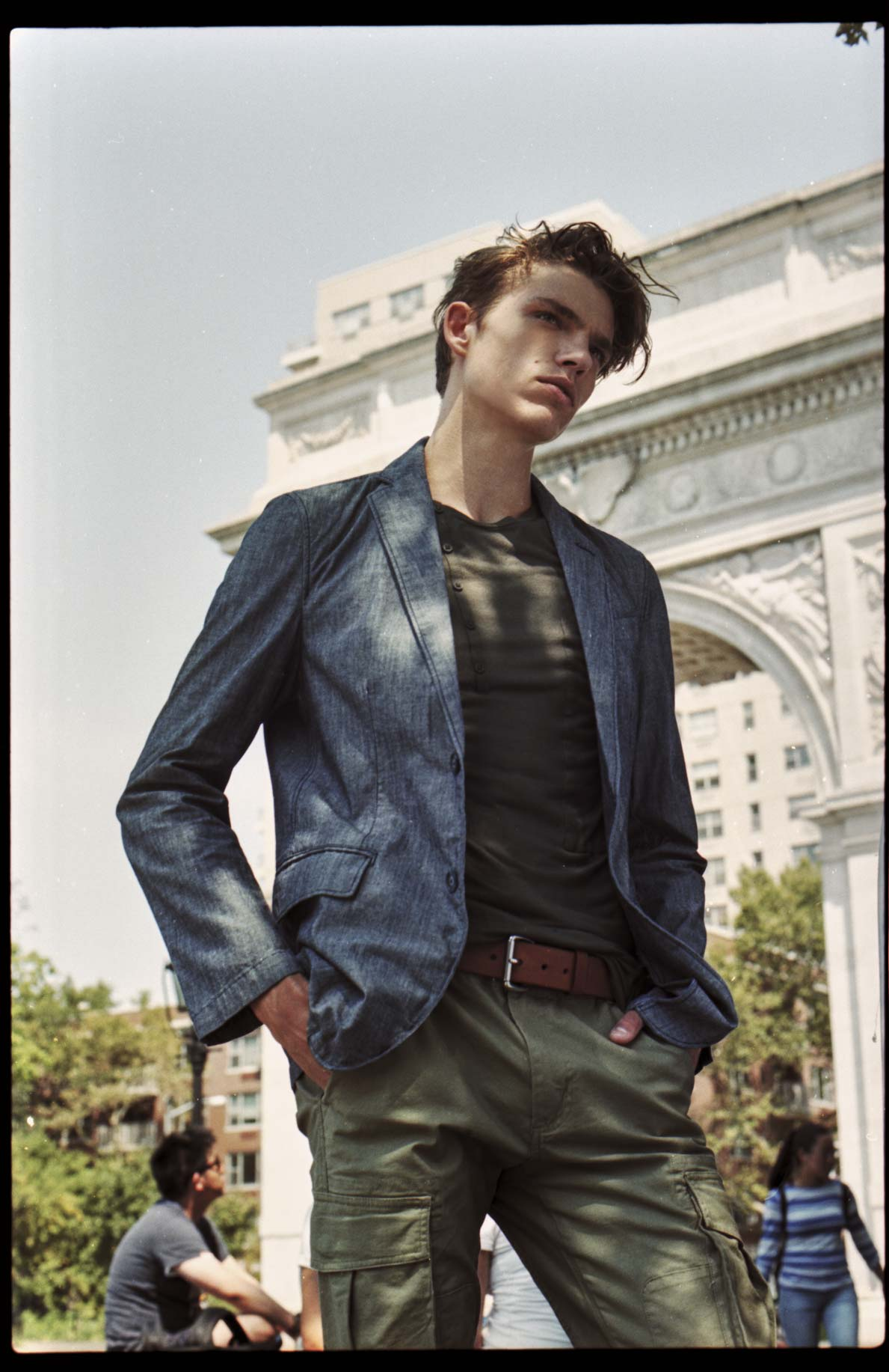Mens Fashion Editorial Homesick Blues In Nyc